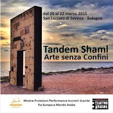 Martha Bouziouri participated in Tandem / Shaml Arts Without Borders Event in Bologna
